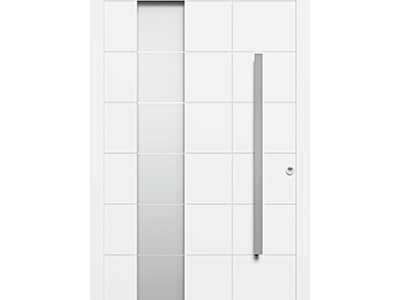 Zewnętrzne drzwi wejściowe 21