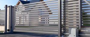 automatyczna brama na posiadłość